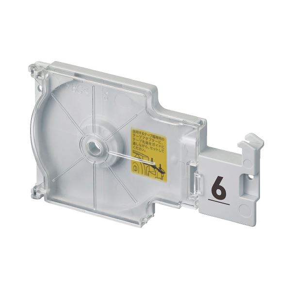 (まとめ)カシオ計算機 ラテコ専用テープアダプターTA-6(×20セット)