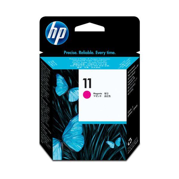 (まとめ) HP11 プリントヘッド マゼンタ C4812A 1個 【×10セット】