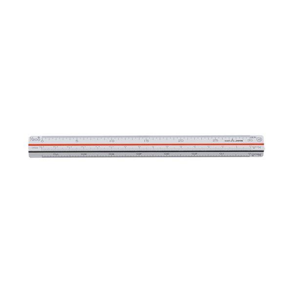 (まとめ)内田洋行 三角スケール ポケット用15cm1-882-0015【×30セット】