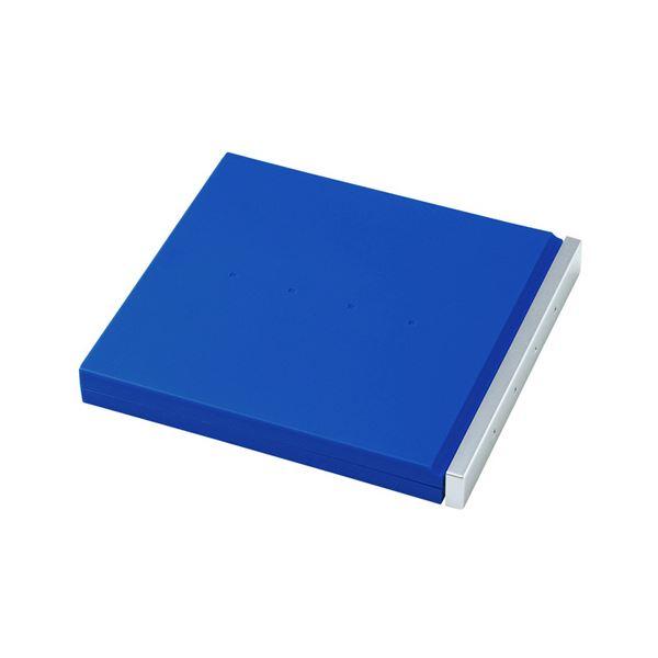 (まとめ) サンワサプライブルーレイディスク対応ポータブルハードケース 8枚収納 ブルー FCD-JKBD8BL 1個 【×10セット】