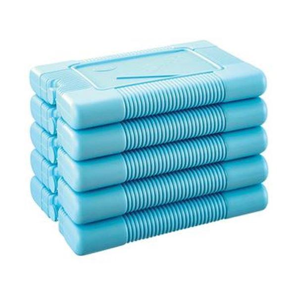 (まとめ)三重化学工業 保冷剤 スノーパックエムアール 1000g MR-100-5P 1袋(5個)【×5セット】