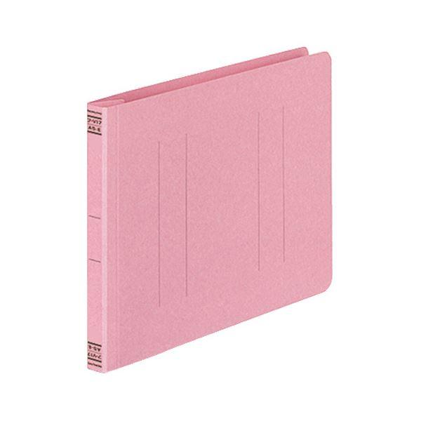 【スーパーセールでポイント最大44倍】(まとめ) コクヨ フラットファイルV(樹脂製とじ具) A5ヨコ 150枚収容 背幅18mm ピンク フ-V17P 1パック(10冊) 【×10セット】