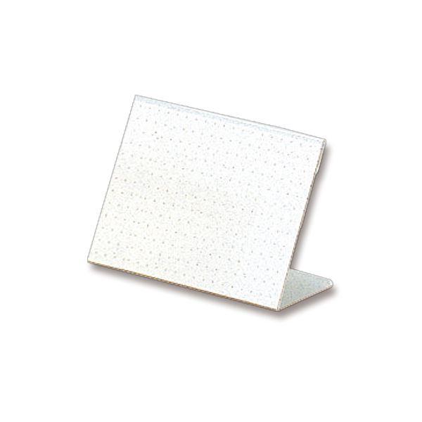 【史上最も激安】 ライオン事務器 カード立L型(再生PET樹脂製) W100×H65mm L-100K 1セット(20個) 【×10セット】, 北摂ガーデンウェブショップ 25f4863d