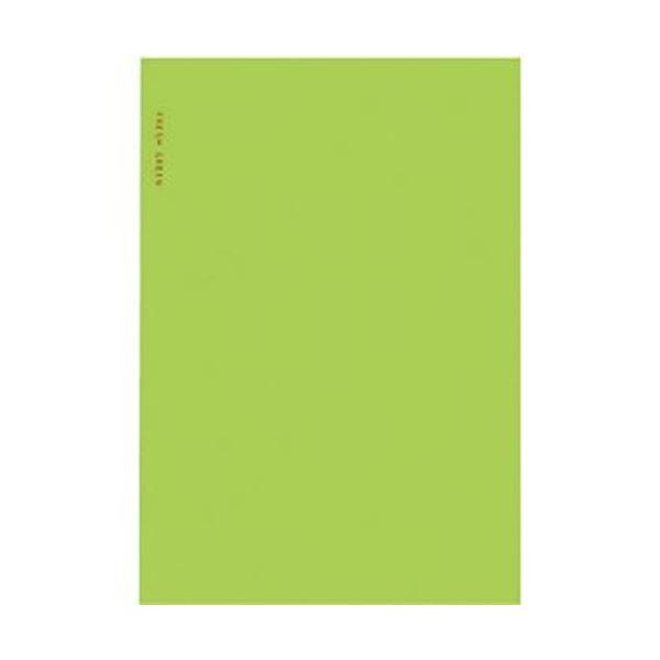 (まとめ)コクヨ スリムアルバム 固定式 A5変形台紙10枚 フレッシュグリーン ア-SL60-2 1セット(5冊)【×10セット】