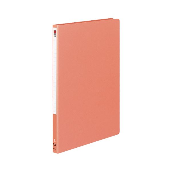 (まとめ) コクヨ レターファイル MタイプA4タテ 120枚収容 背幅20mm 赤 フ-1550NR 1セット(10冊) 【×10セット】