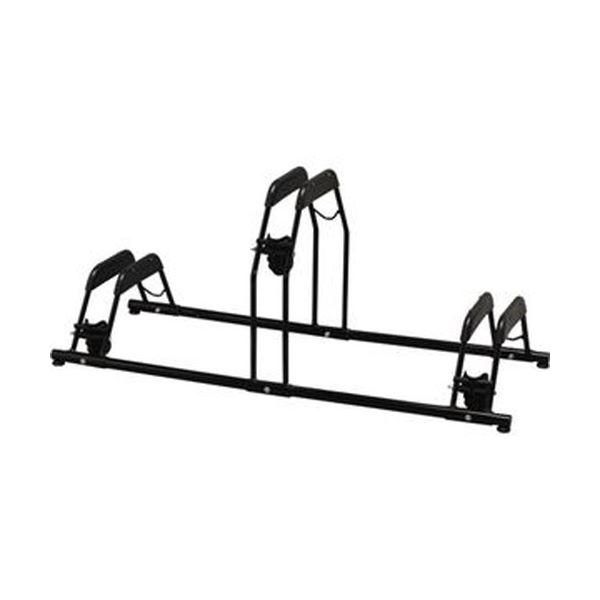 (まとめ)アイリスオーヤマ 自転車スタンドBYS-3 1台【×3セット】