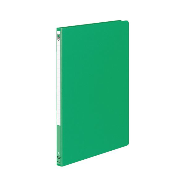 (まとめ) コクヨ レターファイル MタイプA4タテ 120枚収容 背幅20mm 緑 フ-1550NG 1セット(10冊) 【×10セット】