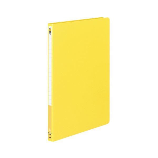 (まとめ) コクヨ レターファイル MタイプA4タテ 120枚収容 背幅20mm 黄 フ-1550NY 1セット(10冊) 【×10セット】