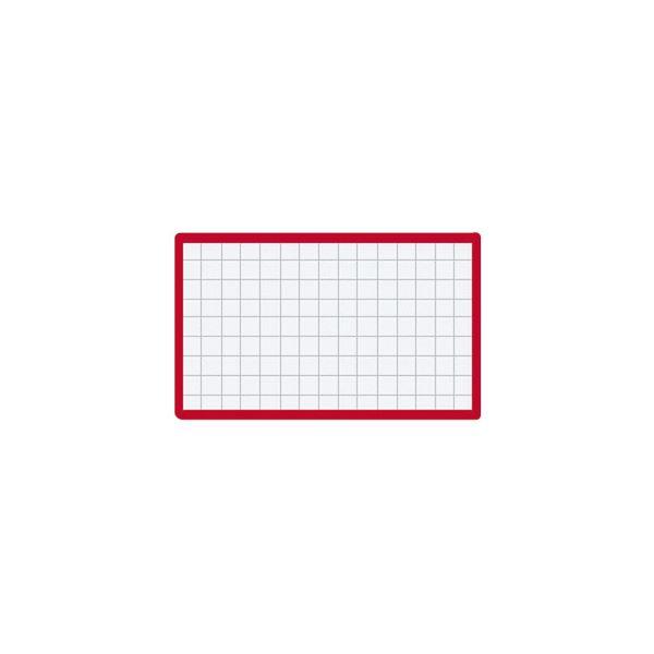 (まとめ)コクヨ マグネット見出し 43×74mm赤 マク-403R 1セット(10個)【×5セット】