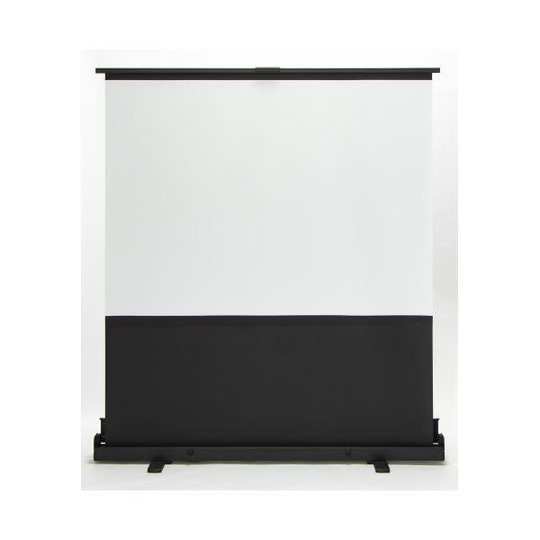 プラス フロアタイプスクリーン60インチFSR-60