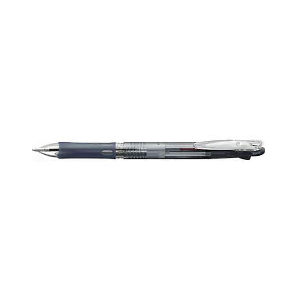 (まとめ) ゼブラ クリップオンスリム 2色ボールペン 黒(インク色:黒・赤) ボール径:0.7mm【×50セット】