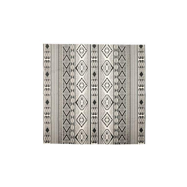 モダン ラグマット/絨毯 【180×180cm TTR-162C】 正方形 綿 インド製 〔リビング ダイニング フロア 居間〕