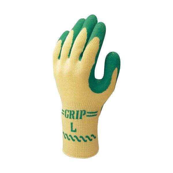 (まとめ) ショーワグローブ グリップ(ソフトタイプ) L 緑 No.310L GN 1双 【×30セット】