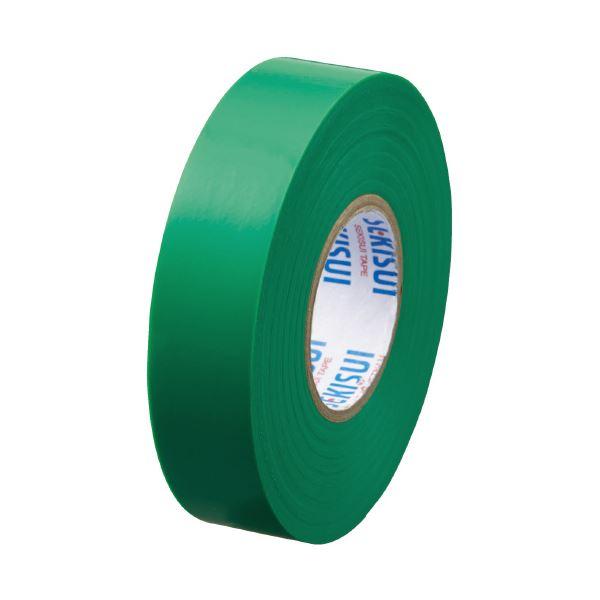 【スーパーセールでポイント最大44倍】(まとめ)セキスイ エスロンテープ #360 19mm×20m 緑 V360M2N(×100セット)