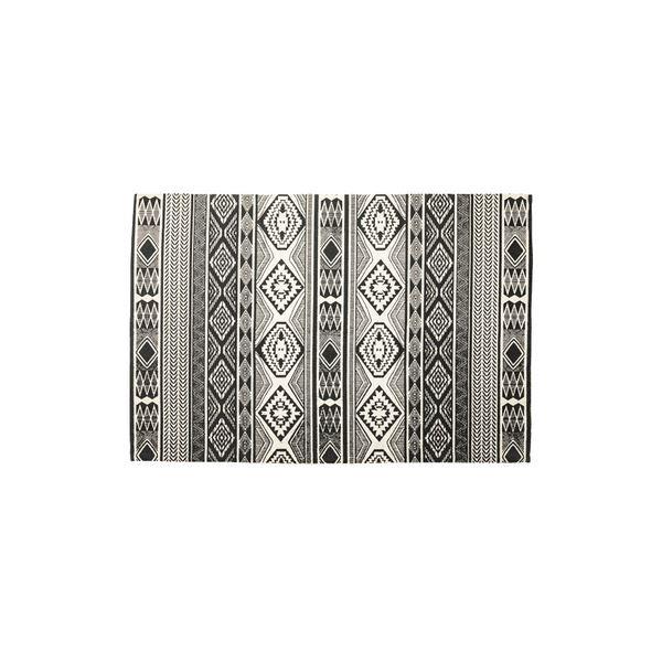 モダン ラグマット/絨毯 【170×230cm TTR-163C】 長方形 綿 インド製 〔リビング ダイニング フロア 居間〕