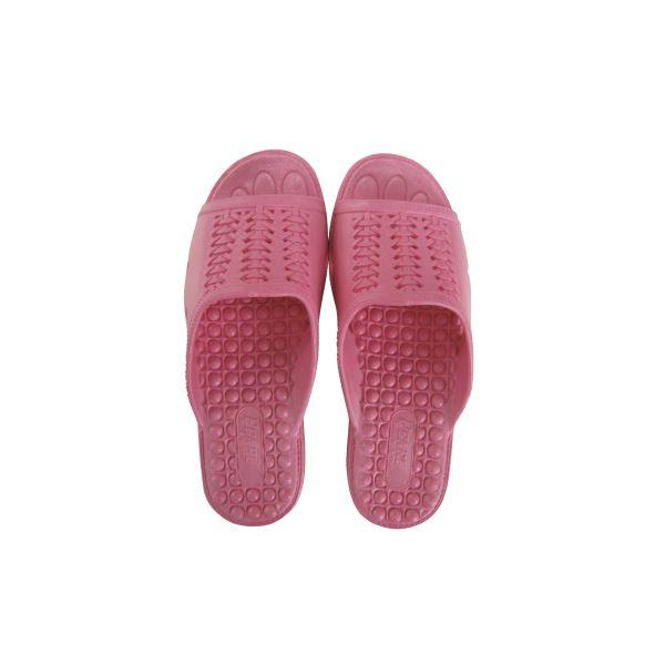 【スーパーセールでポイント最大44倍】(まとめ)ニッポンスリッパ 成型サンダル 婦人用 L ピンク【×30セット】