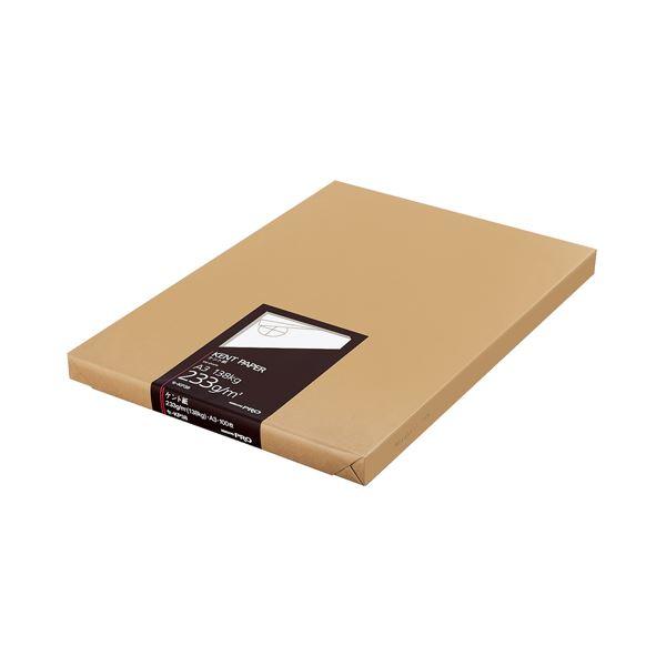(まとめ)コクヨ 高級ケント紙 233g/m2A3カット セ-KP38 1冊(100枚)【×3セット】