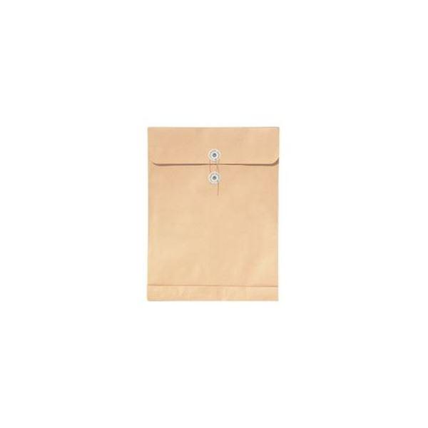 (まとめ)菅公工業 再生紙クラフト エコパッカー角2 120g/m2 ホ088 1パック(100枚)【×3セット】