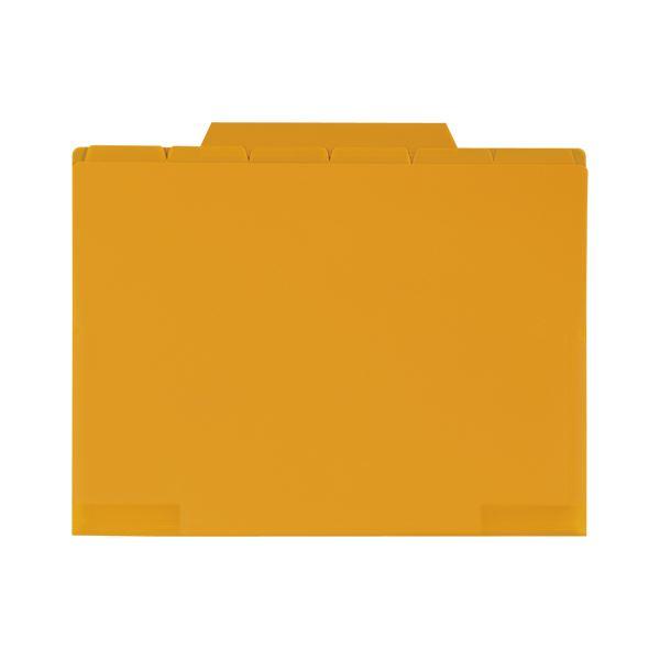 (まとめ) セキセイ 6インデックスホルダー A4 オレンジ【×50セット】