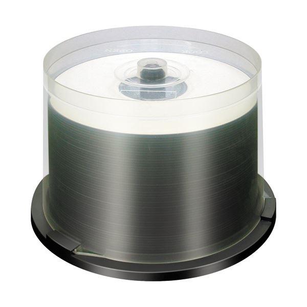 (まとめ) 三菱ケミカルメディア データ用DVD-R4.7GB 16倍速 ホワイトプリンタブル スピンドルケース DHR47JP50F 1パック(50枚) 【×10セット】