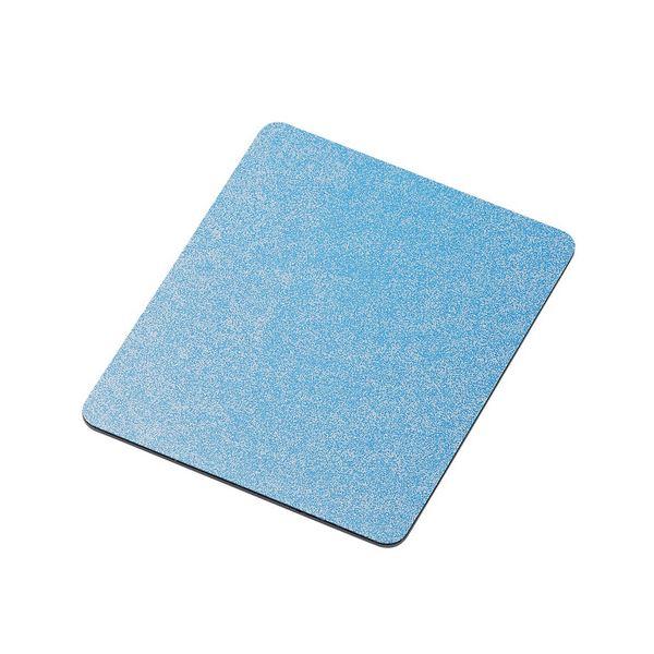 (まとめ) エレコムレーザー&光学式マウス対応 スタンダードマウスパッド ブルー MP-113BU 1枚 【×30セット】