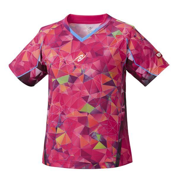 【スーパーセールでポイント最大44倍】Nittaku(ニッタク) 卓球ゲームシャツ MOVESTAINED LADIES SHIRT ムーブステンド レディースシャツピンクSS