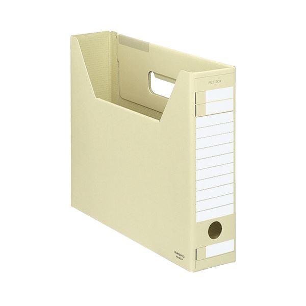 (まとめ) コクヨ ファイルボックス-FS(Dタイプ) A4ヨコ 背幅75mm 黄 A4-SFD-Y 1セット(5冊) 【×10セット】