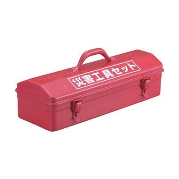 (まとめ)TRUSCO災害工具セット用ツールボックス TRC-C 1個【×3セット】