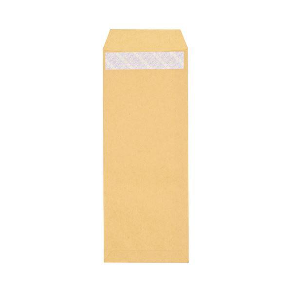 (まとめ) ピース R40再生紙クラフト封筒 テープのり付 長40 70g/m2 〒枠あり 453-10 1パック(100枚) 【×30セット】
