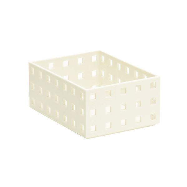 (まとめ) セキセイ シスブロック 小 ホワイトSBK-9001W 1個 【×30セット】