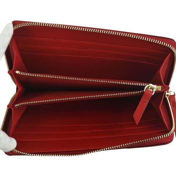 Maison Margiela(メゾン マルジェラ) ラウンド長財布 S56UI0110 T4327 RED