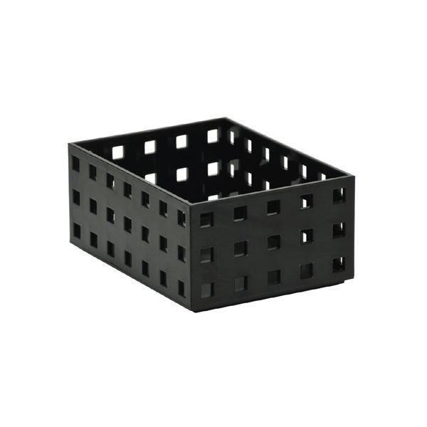 (まとめ) セキセイ シスブロック 小 ブラックSBK-9001BK 1個 【×30セット】
