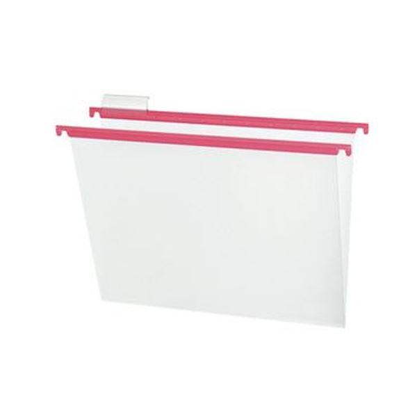 (まとめ)コクヨ ハンギングフォルダーPP(カラー)A4 ピンク A4-HFPN-P 1セット(10冊)【×5セット】