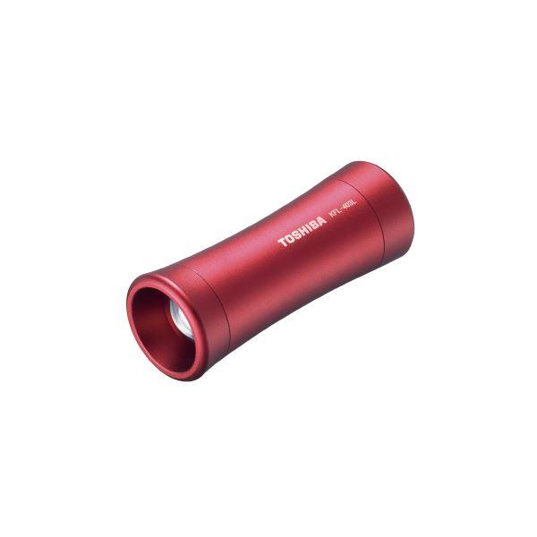 (まとめ)東芝 LEDランタン付ライトKFL-403L ワインレッド【×30セット】