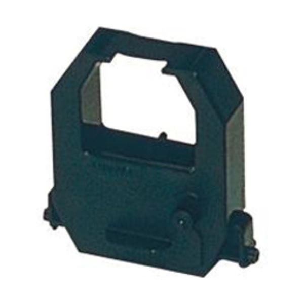 (まとめ) アマノ タイムレコーダー用インクリボンカセット 黒 CE315150 1個 【×5セット】