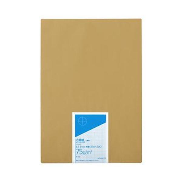 【スーパーセールでポイント最大44倍】(まとめ)コクヨ 上質方眼紙 B3 1mm目ブルー刷り 100枚 ホ-13 1冊【×5セット】