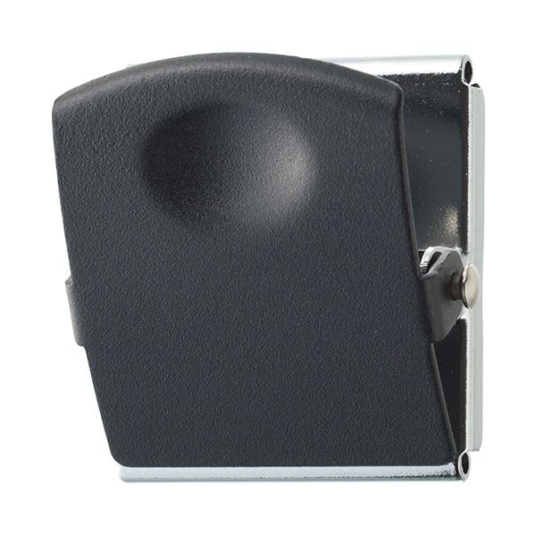 (まとめ) TANOSEE 超強力マグネットクリップL ブラック 1個 【×30セット】