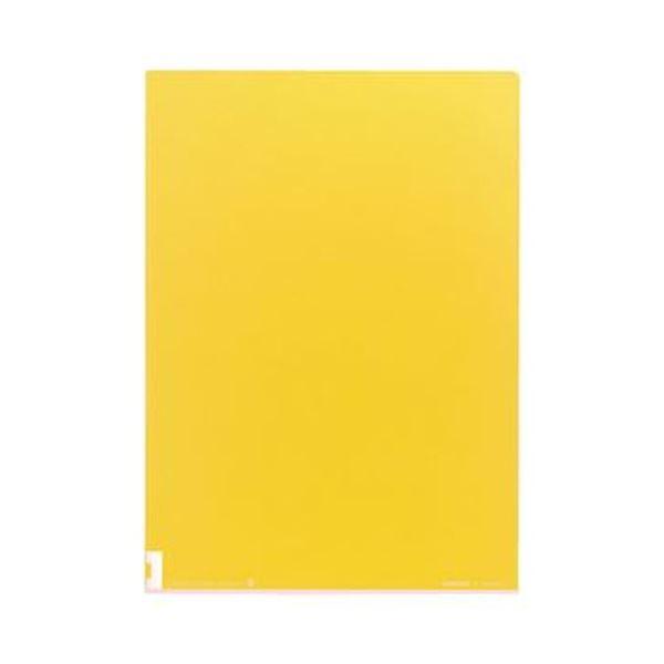 表面は透明 裏面はカラーだから 中身も見えて分類しやすい まとめ コクヨ クリヤーホルダー 高品質 カラーズ イエロー 5枚 レモン ×20セット 1セット A4 年末年始大決算 フ-C750-2