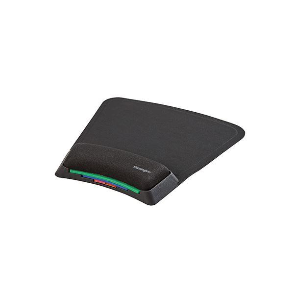 (まとめ) Kensington SmartFit リストレスト付マウスパッド【×5セット】