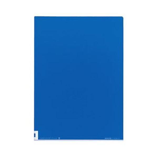 表面は透明 裏面はカラーだから 中身も見えて分類しやすい 購買 まとめ 永遠の定番モデル コクヨ クリヤーホルダー カラーズ 1セット 5枚 A4 ×20セット マリンブルー フ-C750-5