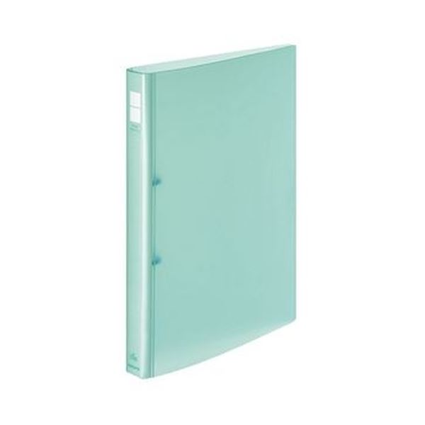 (まとめ)コクヨ ポップリングファイル A4タテ2穴 150枚収容 背幅31mm 緑 フ-P420NG 1セット(10冊)【×3セット】