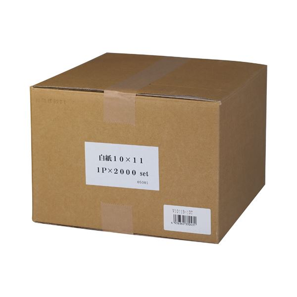 (まとめ) 小林クリエイト 白紙フォーム 9×11インチ 1P V0911B-1DT 1箱(2000枚) 【×5セット】