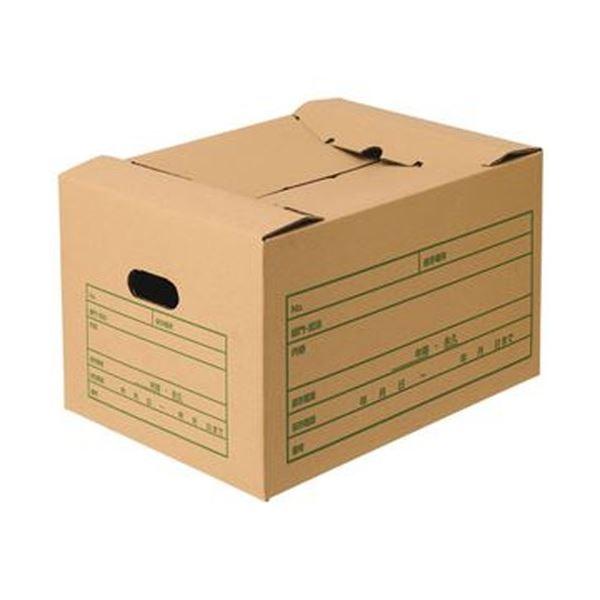 (まとめ)TANOSEE 文書保存箱(差し込み式)A4用 1パック(10個)【×3セット】