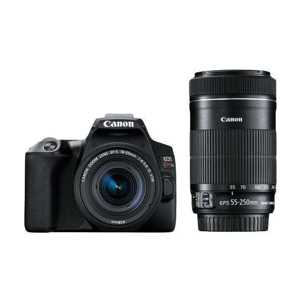 キヤノン デジタル一眼レフカメラ EOS Kiss X10 (ブラック)・ダブルズームキット 3452C003