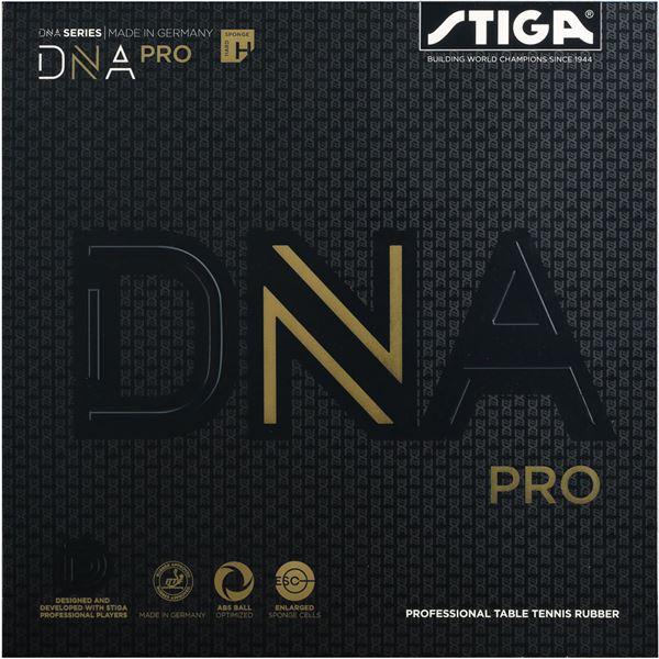 STIGA(スティガ) テンション系裏ソフトラバー DNA PRO H ディーエヌエー プロ H レッド 特厚