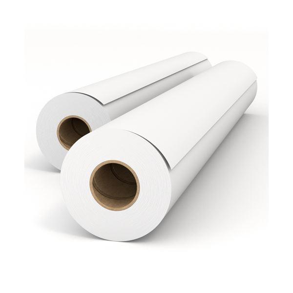 (まとめ)HP スタンダード普通紙42インチロール 1067mm×45m Q1398A 1セット(2本)【×3セット】