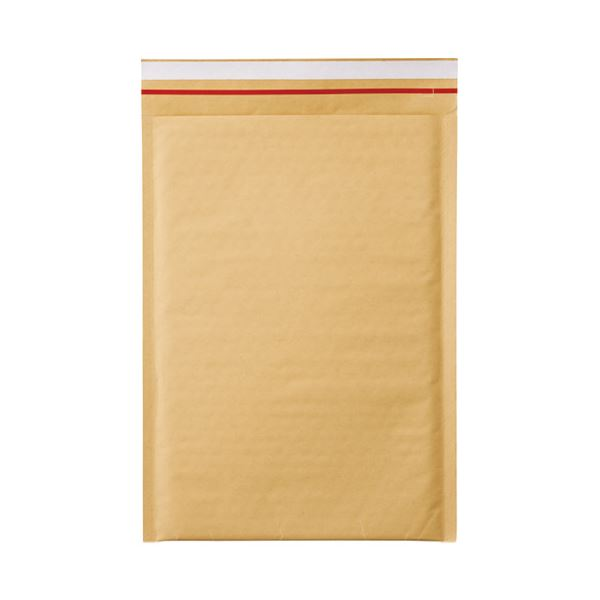 (まとめ)今村紙工 クッション封筒 茶テープ付 A4サイズ用10枚【×10セット】