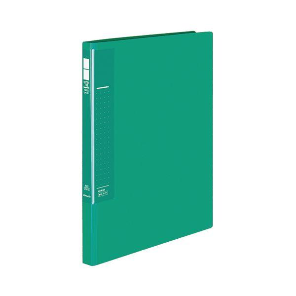 【マラソンでポイント最大44倍】(まとめ) コクヨ レターファイル(ラクアップ) A4タテ 120~250枚収容 背幅23~36mm 緑 フ-U510G 1冊 【×30セット】