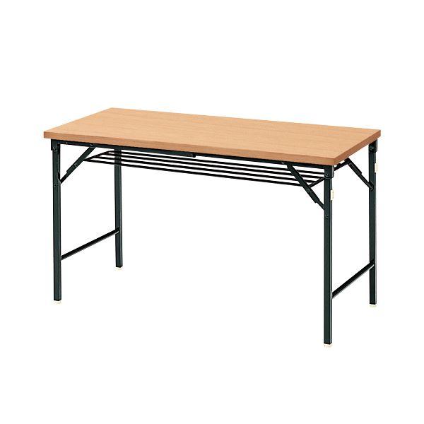 【マラソンでポイント最大43倍】ジョインテックス 脚折りたたみテーブル TWS-M1245NA 天板:ナチュラル