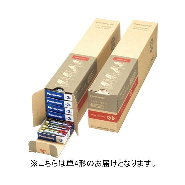 (まとめ) Panasonic アルカリ乾電池 単4 100本入 LR03XJN/100S【×3セット】